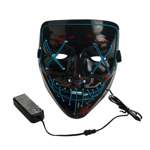 front view led mask