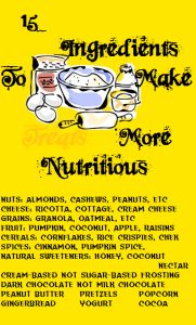 15 Ingredients To Make <em>Treats</em> More Nutritious
