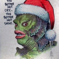 Seasons Greetings from the Swamp Thing...