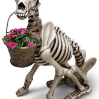 Cool Finds: SKEL-E-DOG Planter