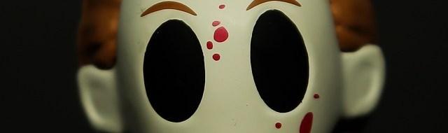 Michael Myers Horror Classics Mystery Mini figure by Funko  (photo by Matt Artz for HalloweenDailyNews.com)_0009