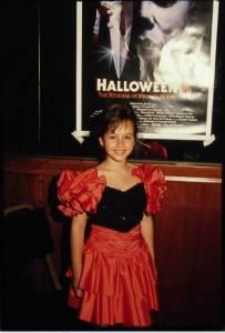 Danielle Harris Halloween 5 premiere