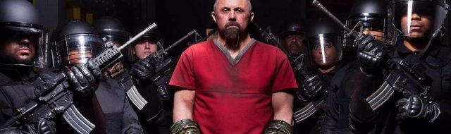 Kane Hodder stars in 'Death House'