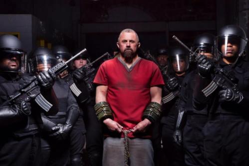 Kane Hodder stars in 'Death House'