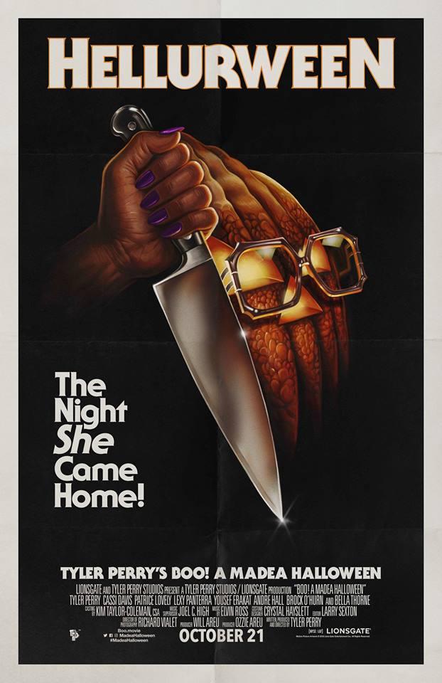 'Boo! A Madea Halloween' - teaser poster