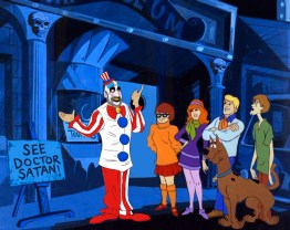 Captain Spaulding Scooby-Doo 'Lost Mysteries' - art by ibTrav Illustrations