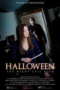 'Halloween: The Night Evil Died' fan film poster