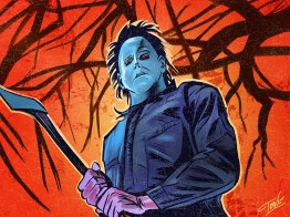 Michael Myers Halloween 6 - 31 Days of Halloween art by IBTrav Illustrations