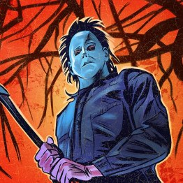 Michael Myers Halloween 6 - 31 Days of Halloween art by IBTrav Illustrations