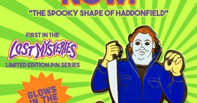 Michael Myers Scooby-Doo 'Lost Mysteries' Pin by ibTrav Illustrations