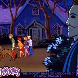 Michael Myers Scooby-Doo 'Lost Mysteries' art by ibTrav Illustrations - 01