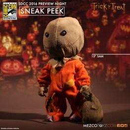 SDCC - Trick 'r Treat Sam by Mezco