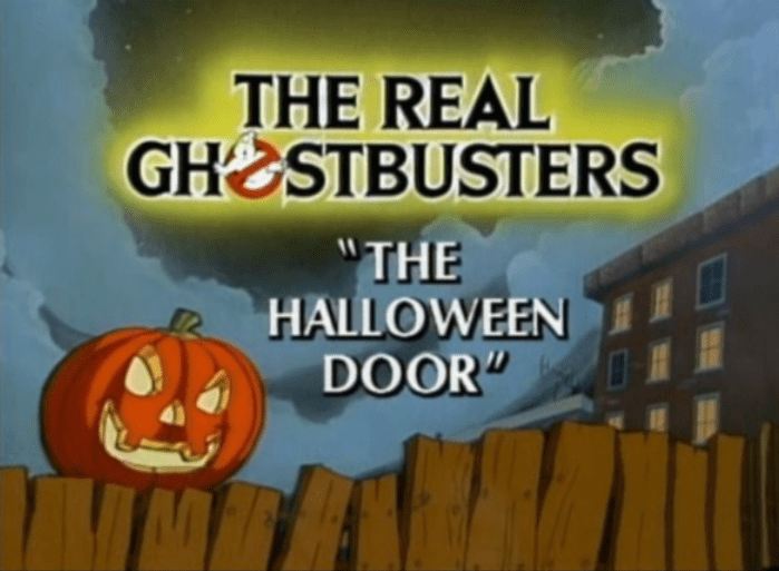 The Real Ghostbusters - The Halloween Door
