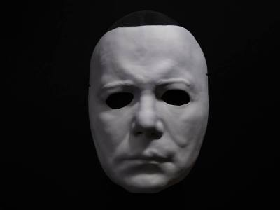 'Halloween II' Michael Myers vacuform mask by Trick or Treat Studios