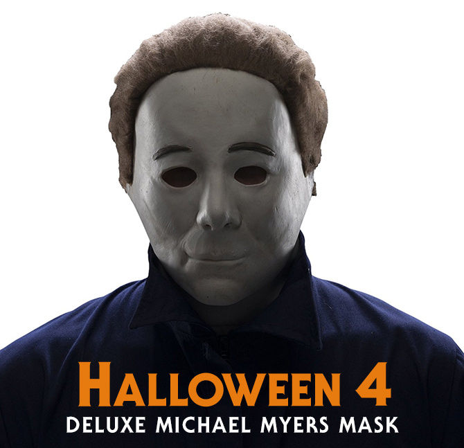 sc 1 st  Halloween Daily News & Rubieu0027s Unveils Michael Myers u0027Halloween 4u0027 Mask! | Halloween Daily News