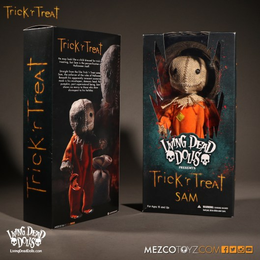 Sam Trick 'r Treat - Living Dead Dolls - Package