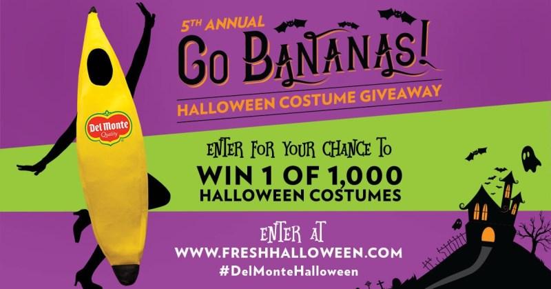 Del Monte Go Bananas for Halloween