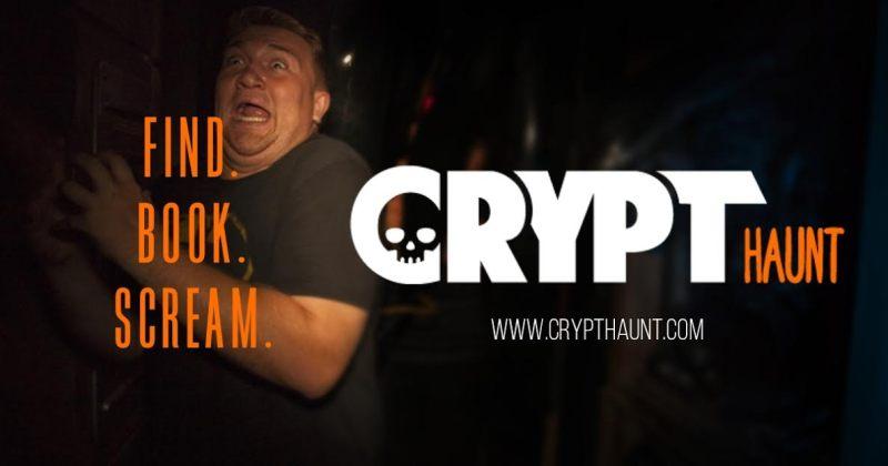 CryptHaunt Halloween haunted house locator