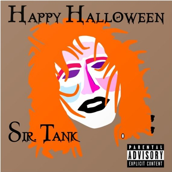 Sir Tank 'Happy Halloween' album cover