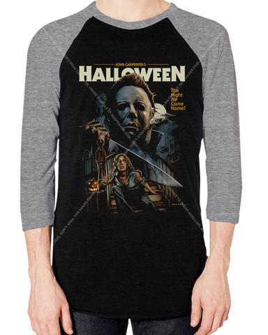 halloween-v1-baseball-tee-art-by-justin-osbourn