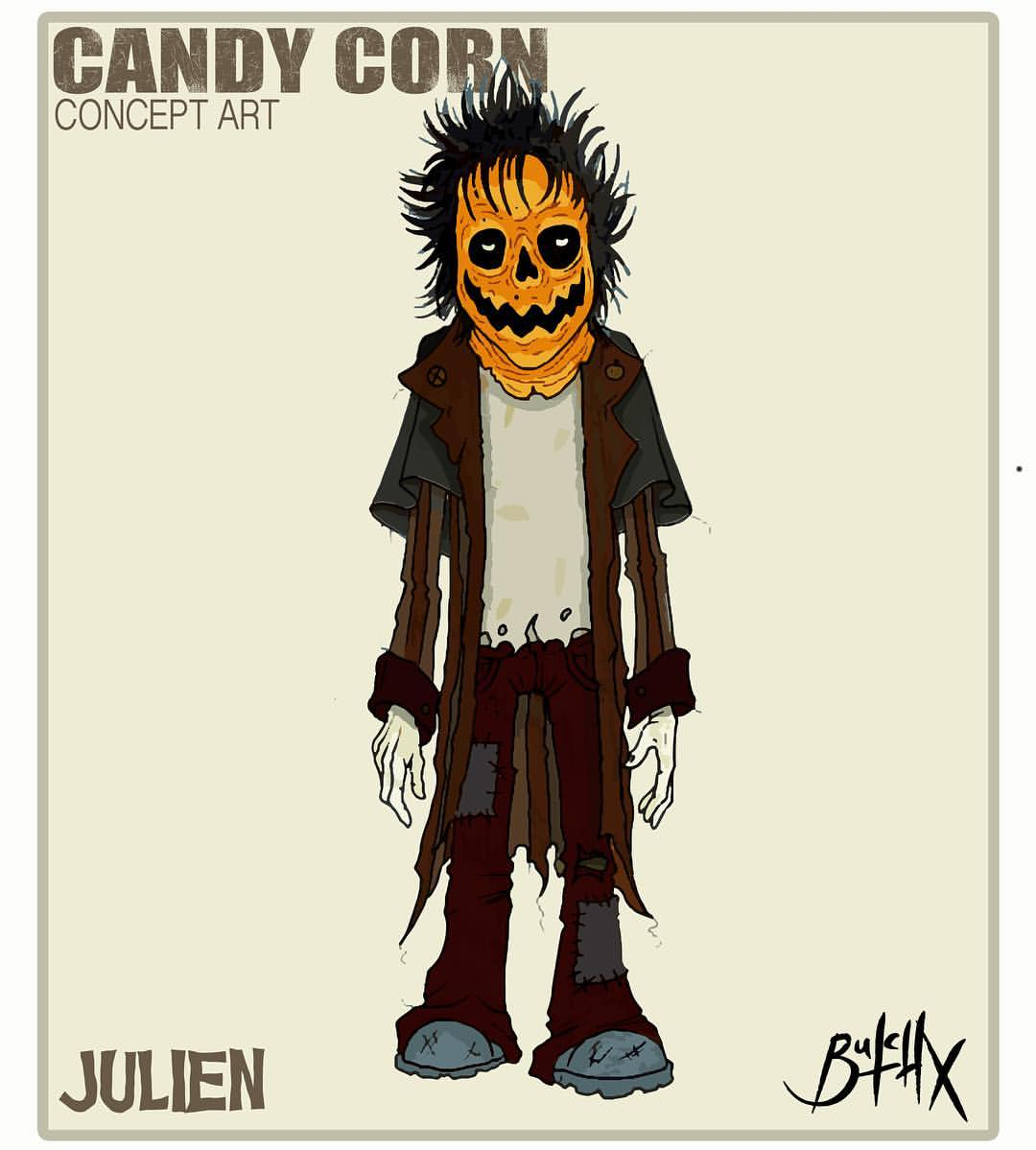 'Candy Corn' Julien concept art