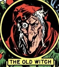 EC Comics 'Tales from the Crypt' Old Witch