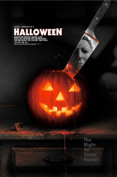 'Halloween' poster by Matthew Peak