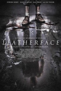 'Leatherface' - teaser poster