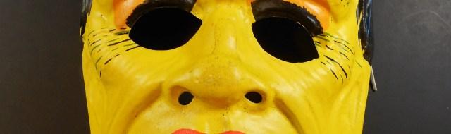 Vintage Frankenstein mask by Ben Cooper.
