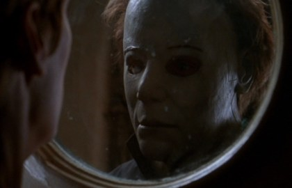 Chris Durand is Michael Myers in 'Halloween H20: Twenty Years Later'.