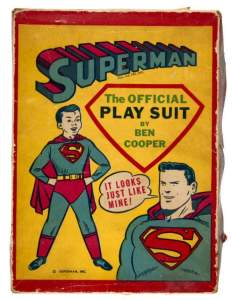Superman costume by Ben Cooper.