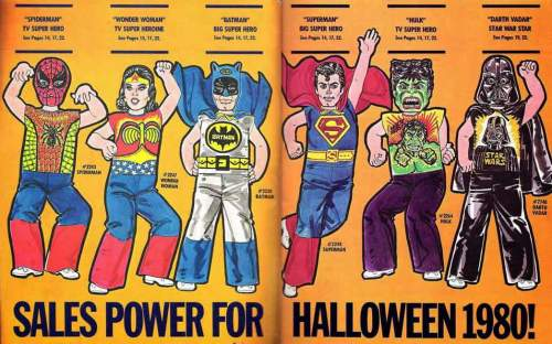 A 1980 Ben Cooper costumes ad.