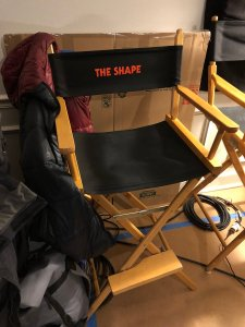 The throne - shared by Nick Castle, via Twitter