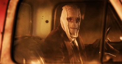 Damian Maffei is The Man in the Mask in 'The Strangers: Prey at Night'.