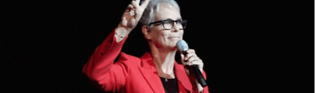 Cinemacon 2020 Halloween Jamie Lee Curtis Introduces First 'Halloween' Footage at CinemaCon