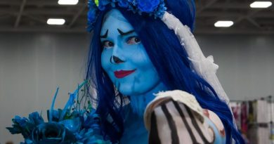 'Corpse Bride' Cosplayer Carson Dye Plays Dead [Video / Photo Gallery]