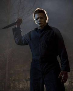 Michael Myers returns in 'Halloween'.