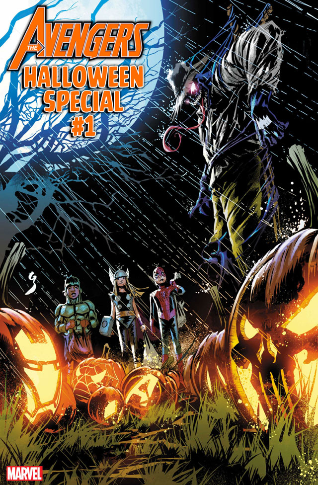'Avengers Halloween Special #1' cover by Geoff Shaw