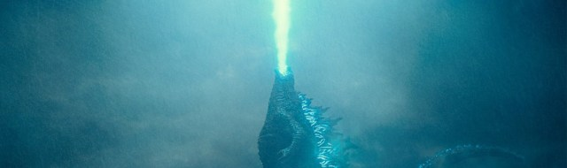Godzilla rises from the depths and unleashes his atomic breath to claim his crown as King of the Monsters.