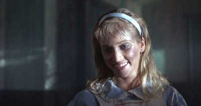 Cathy Podewell is Judy in 'Night of the Demons'.