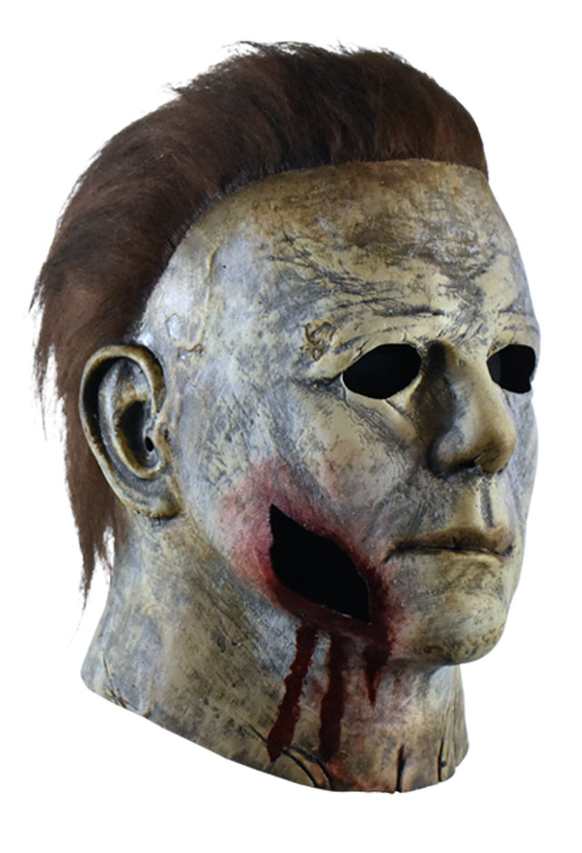 Halloween 2020 Michael Myers Mask Bloody Edition Review Halloween' 2018 Michael Myers Bloody Edition Mask by Trick or