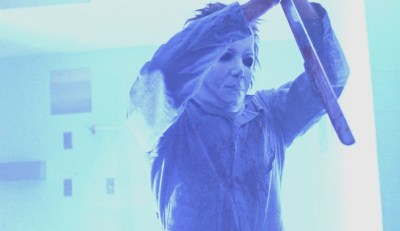 A. Michael Lerner as Michael Myers in 'Halloween: The Curse of Michael Myers'.