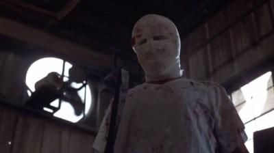 Tom Morga as Michael Myers in 'Halloween 4'.