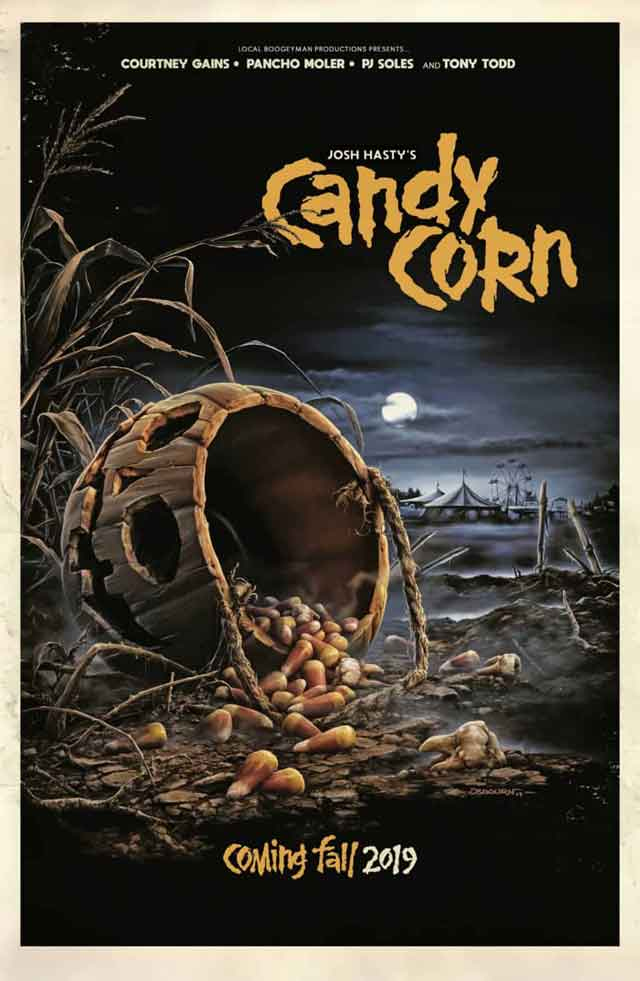 Candy Corn doo rag