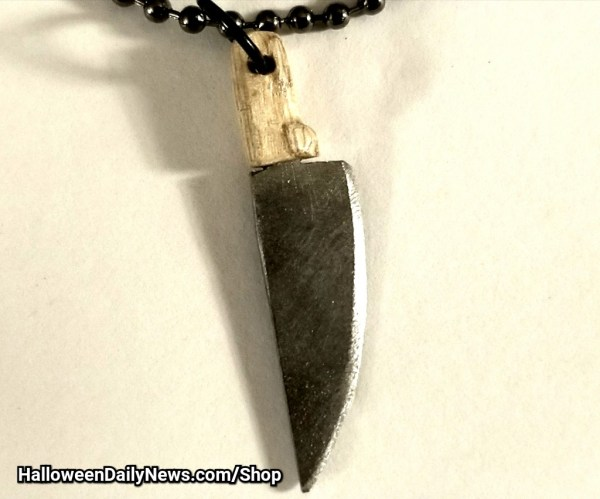 Butcher Knife Pendant by Skull Soup