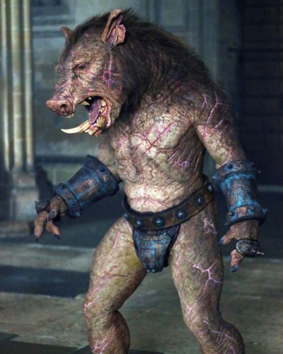 DouglasTait as Gruagach in 'Hellboy'.