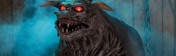 'Ghostbusters' Terror Dog Life-Size Animatronic from Spirit Halloween, 2019