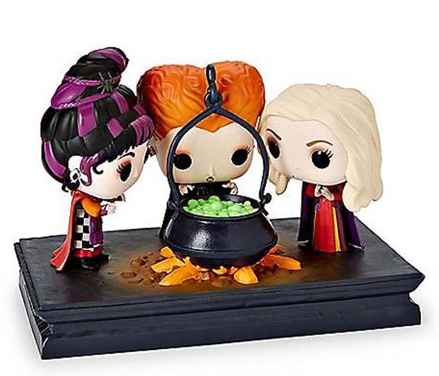 Halloween Pop.New Hocus Pocus Funko Pop Figures Set Landing At Spirit