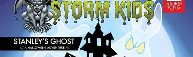 Storm Kids' Halloween Comic 'Stanley's Ghost' Coming October 2020