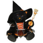 halloween cat midnight build a bear